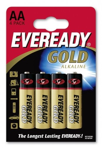 Eveready Gold LR6 AA Mignon 4er Blister