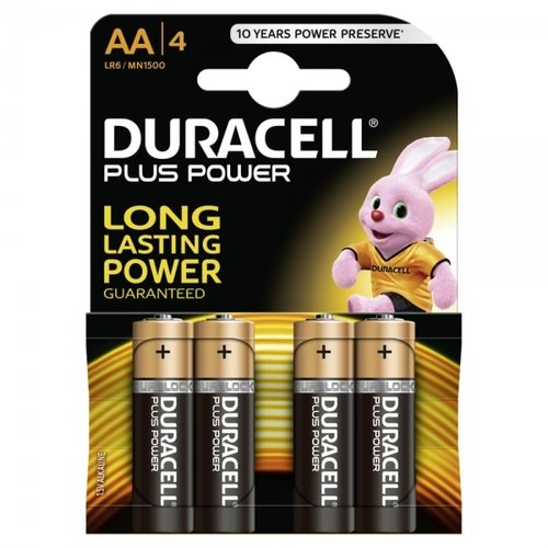 DURACELL Plus Power MN1500 AA Duraclock 4er Blister