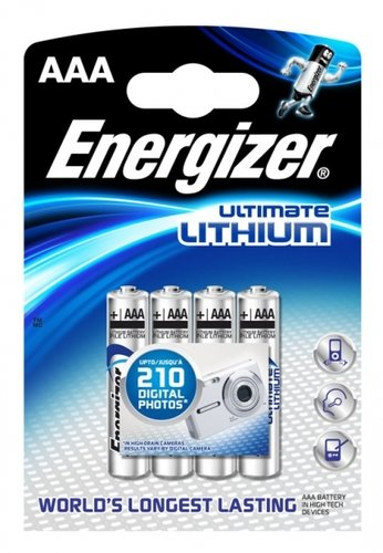 Energizer Ultimate Lithium L92 AAA Micro 4er Blister