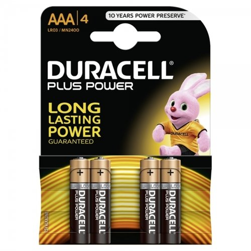 DURACELL Plus Power Duralock MN2400-LR03-AAA-Micro - 4er Blister