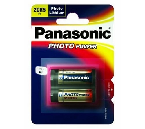 Panasonic Photo Power 2CR5 Lithium 1er Blister