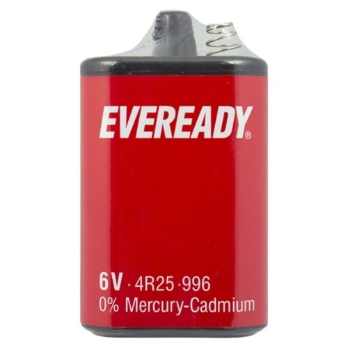 Eveready 4R25 Blockbatterie Ecoli 6V 9,5 Ah
