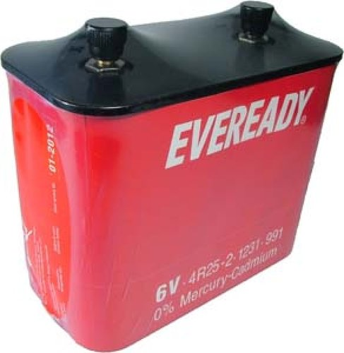 Eveready Blockbatterie 4R25-2 Porto 22Ah 6V