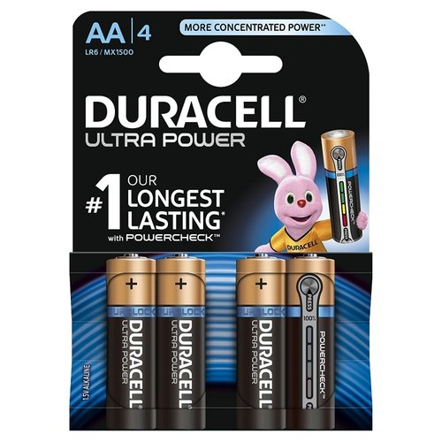 DURACELL Ultra Power MN1500 AA Mignon 4er Blister
