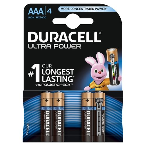 DURACELL Ultra Power MX2400 AAA Micro 4er Blister