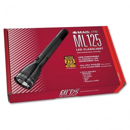Maglite ML125 LED Taschenlampe Rechargeable black