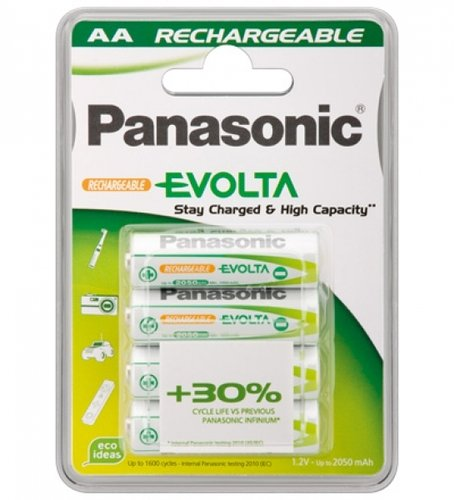 Panasonic EVOLTA AA Ready to Use Akku 1900 mAh 4er Blister