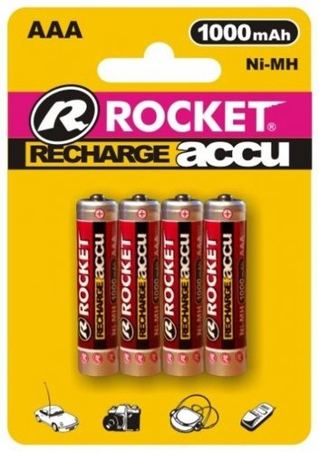 Rocket Digital Akku AAA Micro 1000 mAh Blister 4