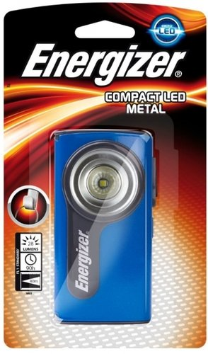 Energizer Compact Metal LED inkl. 2x AA Batterien