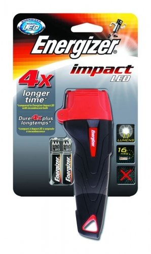 Energizer Stableuchte Impact LED inkl. 2x AAA Batterien