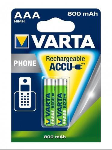 VARTA Phone Power T398 AAA Micro 800 mAh 2er Blister