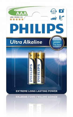 Philips Extremelife LR03-AAA-Micro - 2er Blister