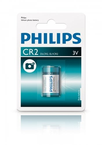 Philips Extremelife Life Photo Lithium CR2 3 Volt 1er Blister