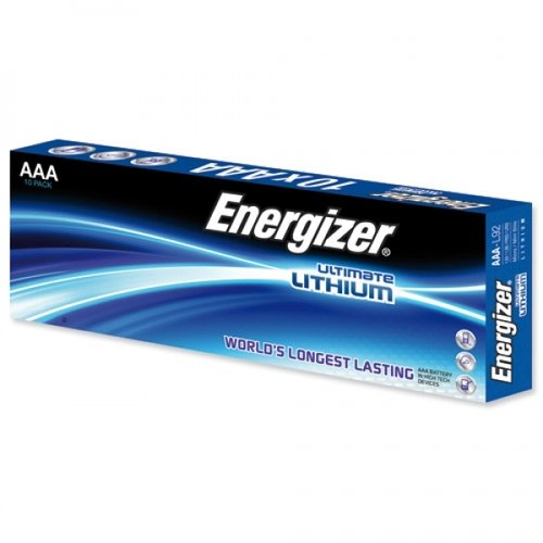 Energizer Ultimate Lithium AAA L92 1,5 V 10er Pack