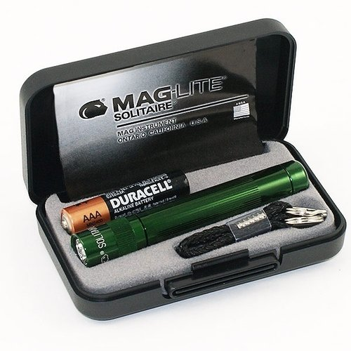 Maglite Solitaire inkl. 1x AAA grün 1er Box