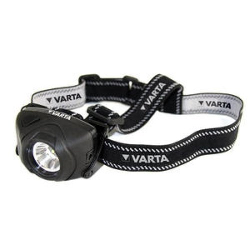 Varta 1W CREE LED Indestructible Headlight 3AAA inkl.