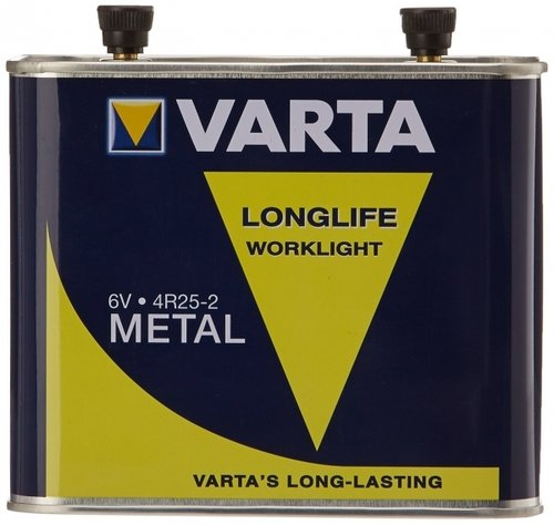 Varta Longlife 4R25-2 Work Metall 6V