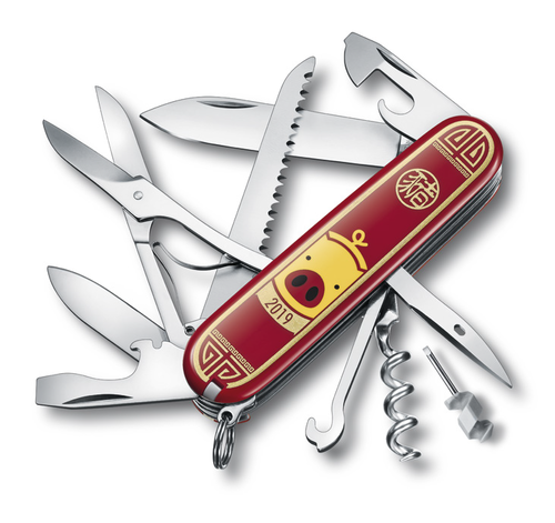 Victorinox 1.3714.E8 Huntsman «Year of the Pig» 2019